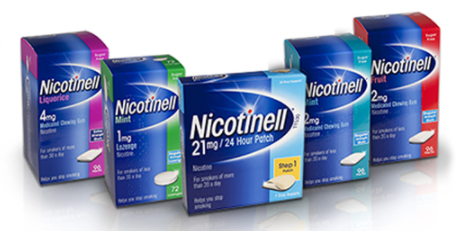 Nicotinell producten