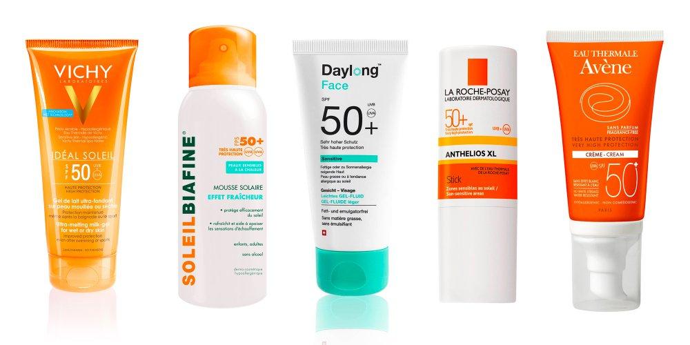 allergie au soleil crème solaire